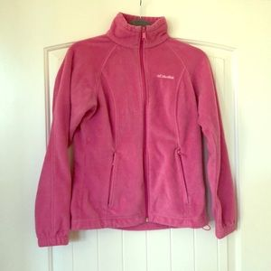 Small Pink Columbia Jacket